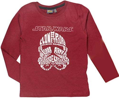 Neue Boys STAR WARS-Longe Hülse T / T-Shirt