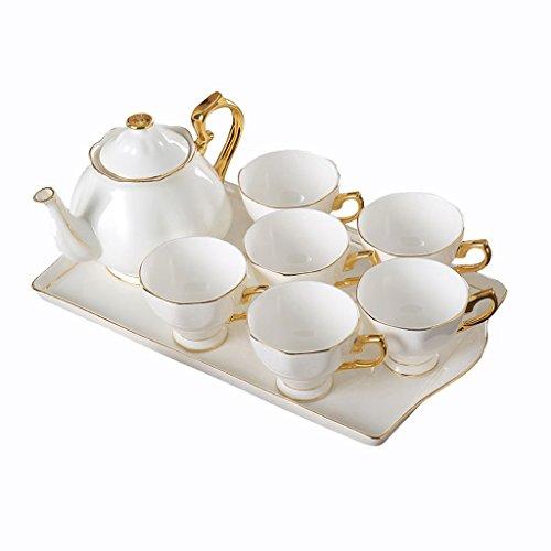 Kaffeetasse Tee Porzellan Keramik Set mit weichen Nachmittag Ornamente Geschenk Boxed GAODUZI Tee-set Boxed