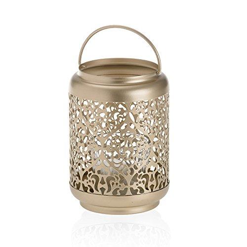 YANKEE CANDLE Sekt Pearl Kerzenhalter, Gold, 14.6