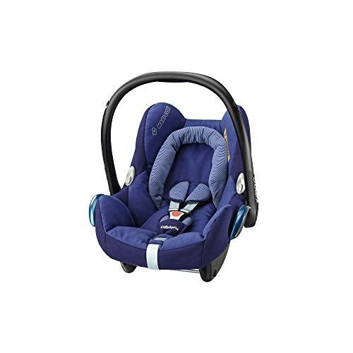 Maxi-Cosi CabrioFix Babyschale, Gruppe 0+ Kindersitz (0-13 kg), nutzbar ab der Geburt bis ca. 12 Monate, Kollektion 2017, river blue