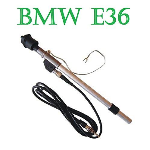BMW e36 Garde-boue antenne teleskopantenn E DIN-Connecteur avec câble 1,5m NEUF!