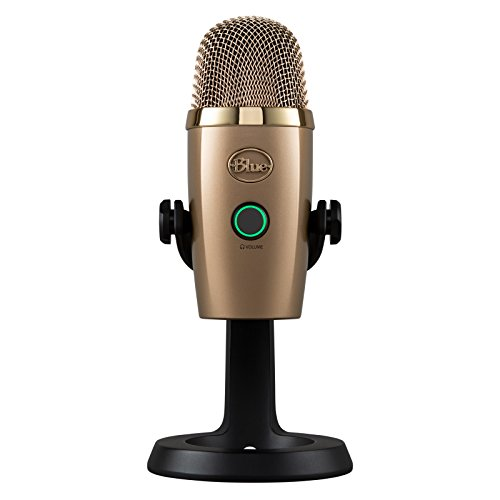 Blue 489 Yeti Nano Premium USB Mikrofon, Cubano Gold