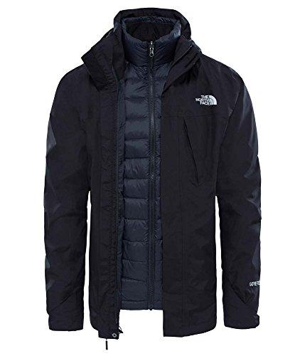 North Face–t93826kx7–Mountain Light–Jacke mit Kapuze–Herren–Schwarz–Größe: XXL North Face Jacke Herren Mit Kapuze