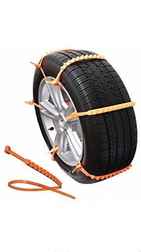 Strap aiuti zipclipgo emergenza trazione quando bloccato nella neve o fango. per le auto, suv, camion