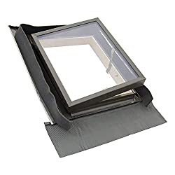 Skylight Roof Windows 85x85 cm for Garages and Unheated Rooms to Provide Ventilation and Light - by SOLSTRO