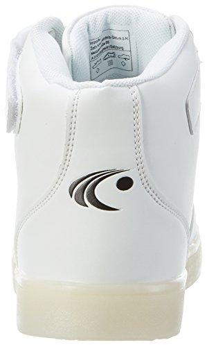 ConWay Unisex-Erwachsene 207462 Hohe Sneaker Weiß (Weiß)