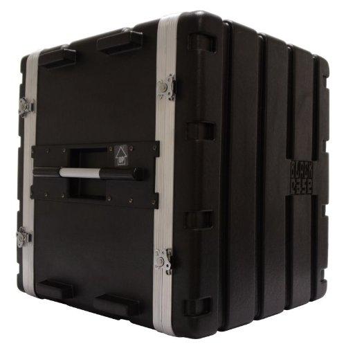 BLACK CASE BCABS12U - ESTUCHE CON SOPORTE RACK PARA EQUIPO DE AUDIO DE ABS (2U  12U)  COLOR NEGRO