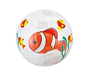 Polygroup Limited- Polygroup 8422259604136 Pelotas 61 Cm Hinchable, Color Transparente (60413)