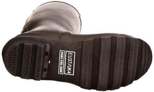 Toggi Wanderer Classic Plus, Bottes en caoutchouc mixte adulte Noir - Black Matt