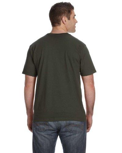 Vokuhila Girl auf American Apparel Fine Jersey Shirt City Green