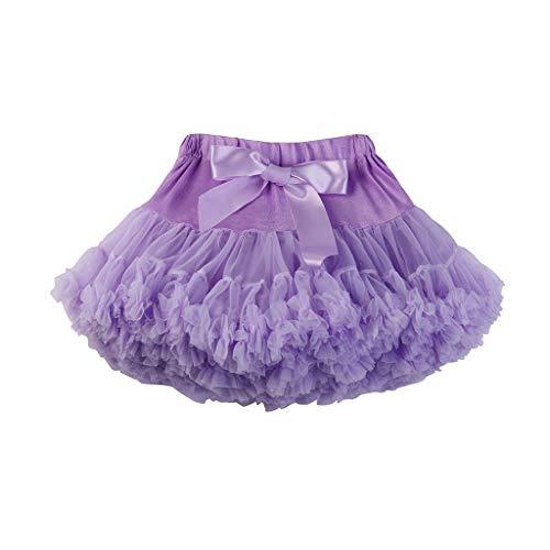 LLonGao Damenmode Einfarbig Tanzparty Tanz Ballett Tutu Röcke Bogen Mehrere Farben Mini Party Kleid Regular Fit ()