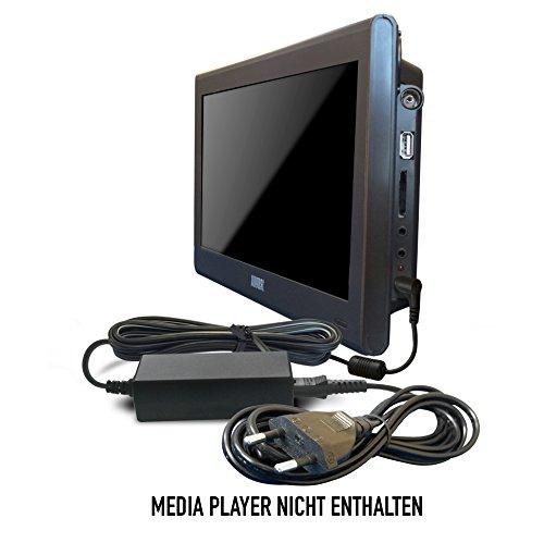 ABC Products® Ersatz August ADP115UK Netzteil, Netzadapter, Netzanschluss DC 12V, 12 Volt für DA100C, DA900C Portabler LCD TV mit DVB-T für Überallfernsehen / Digital Recorder