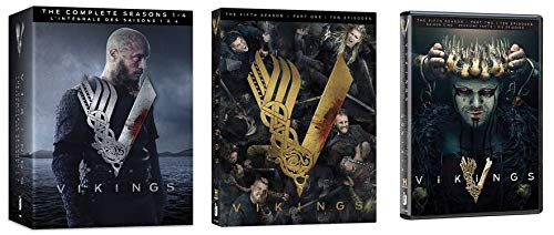 Vikings: Season 1-4 & 5 (Part 1 & 2) [Bilingual][DVD]