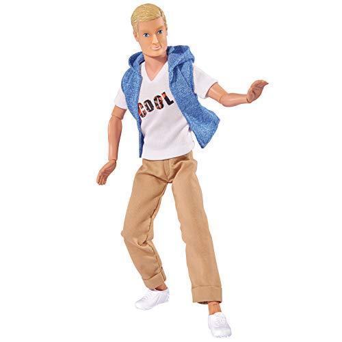 #11 Ankleidepuppe Modepuppe Steffi Love Puppe Cool Kevin 30cm männlich Mann in Freizeitmode Kleidung passend für andere Marken