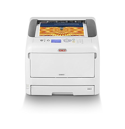 OKI C823n Color 600 x 1200DPI A3 - Impresora láser