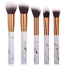 7ad490be7cd38 Pincel para maquillaje de maquillaje de mármol Pincel corrector en polvo  Eyeshadow Eyebrow Brush brochas maquillaje