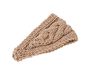 Fletion Neue Frauen Winter Warm Strick Stirnband Damen Warme Stirnbänder Mädchen Stirnband Hairband für Outdoor Wintersports von Fletion - Outdoor Shop
