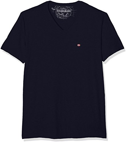 Napapijri Herren T-Shirt Sombre A Blau (Blu Marine 176)