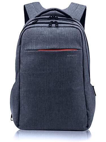 NORSENS 15,6 Zoll Laptop Rucksack Business Notebook Rucksack, Grau-blau