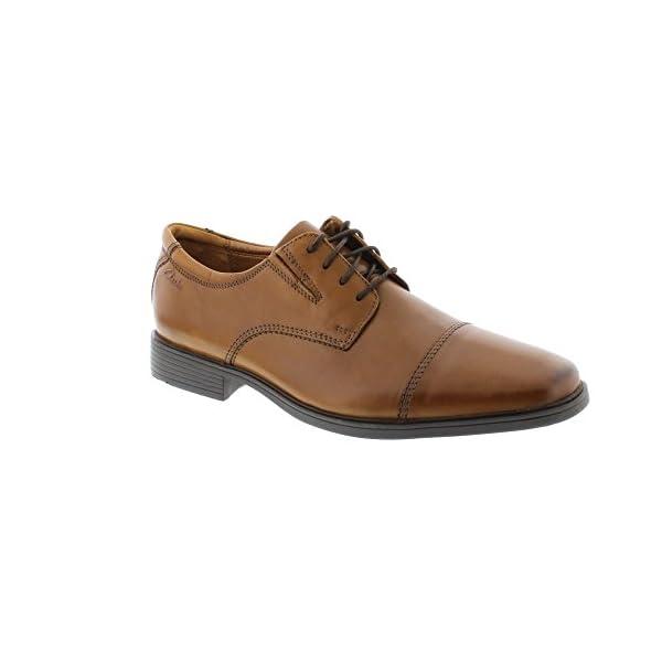 Clarks Tilden Cap, Zapatos de Cordones Derby Hombre