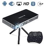 Best Tv Projectors Dlps - VANKYO M50 DLP Portable Mini WiFi Projector, 100ANSI Review