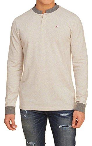 hollister-mens-polo-shirt-banded-collar-long-sleeves-cream-l
