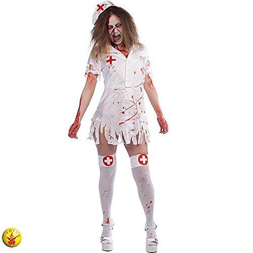 Imagen de rubie's  disfraz de enfermera zombie para adulto, talla única s8227