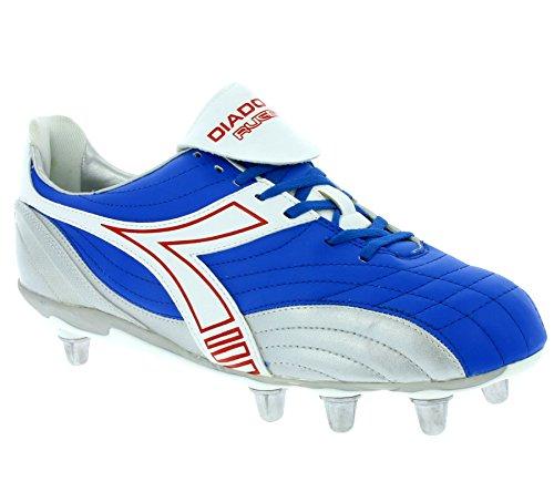 Diadora Rugby Low R SC 8 Schuhe Herren Rugby-Schuhe Sportschuhe Blau 145238 01 C1967