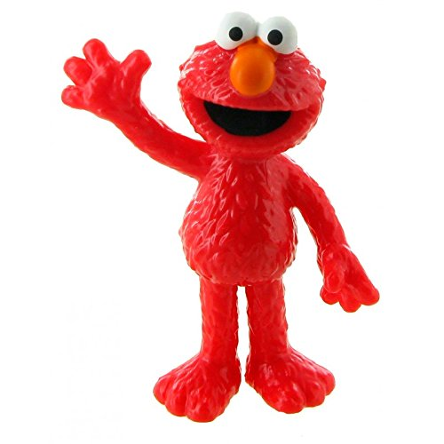 Comansi Y90125. Figure Pvc Elmo. Sesame Neighborhood Series. 6,50 cm height