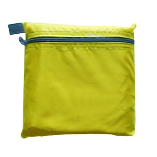 Doppel Campingzelt Doppelschicht Zelt Outdoor Anti UV Markise Liebhaber 2 Personen Wasserdichtes Zelt(Grün)
