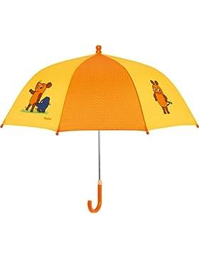 Playshoes DIE MAUS Unisex Regenschirm Maus und Elefant, Die Sendung mit der Maus