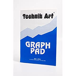 Clairefontaine Technik Art Graph Pad, A3, 1, 5, 10 mm, 40 Leaves