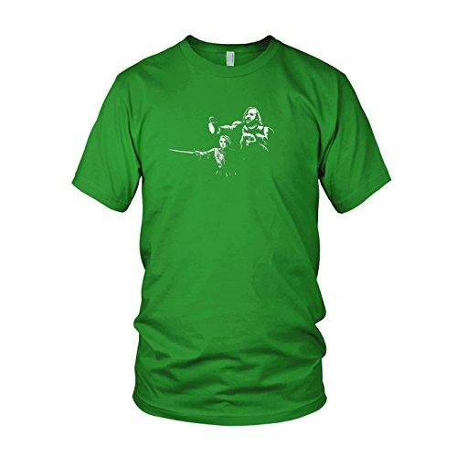 Kostüm Stark Arya Shirt - GoT: Arya Fiction - Herren T-Shirt, Größe: XL, Farbe: grün