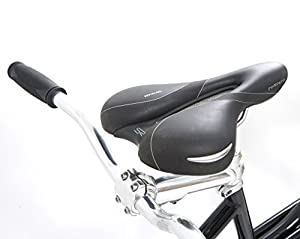 Indigo Turismo 1 Tandem Bike - Black, 18/15-Inch