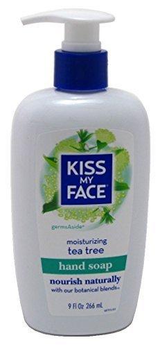 Kiss My Face Hand Soap Tea Tree 9oz Pump by Kiss My Face