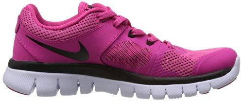 Nike Laufschuhe Flex 2014 Run (GS) Unisex Vivid Pink/Black/White