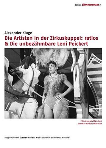 Die Artisten in der Zirkuskuppel: ratlos / Die unbezähmbare Leni Peickert [2 DVDs]