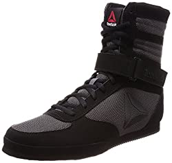 Reebok Reebok Boxing Boot- Buck Trainers, Men, Black – (Blackash Grey)