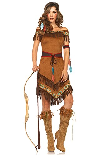LEG AVENUE 85398 - Native Princess Damen kostüm, -