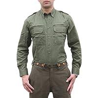 OS Trachten - Camisa de caza para hombre, color verde oscuro