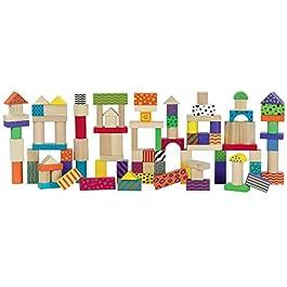 Grandi Giochi- Fustino Costruzioni, Multicolore, GG95008