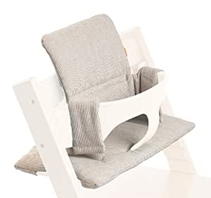 stokke cushion for tripp trapp grey loom baby. Black Bedroom Furniture Sets. Home Design Ideas