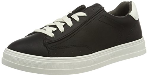 ESPRIT Damen Sidney Lace up Sneaker, Schwarz (001 Black), 40 EU