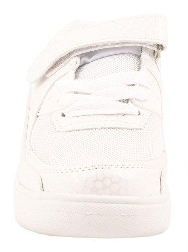Unisexe Chaussures à Roulettes Baskets Sneakers chaussures de course baskets Runners Weiss Skater Klettverschluss