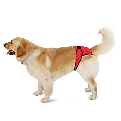 PAWZ Road Pet Recyclable Diaper Dog Sanitary Pantie For Female Dogs in Season and Male Dogs Training Urination and… 5