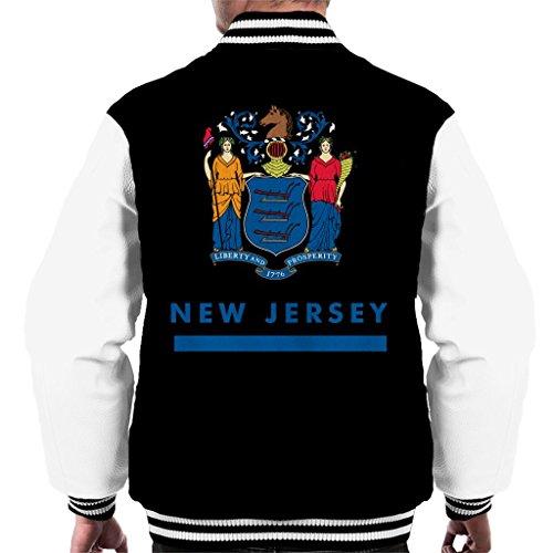 Coto7 New Jersey State Flag Men's Varsity Jacket