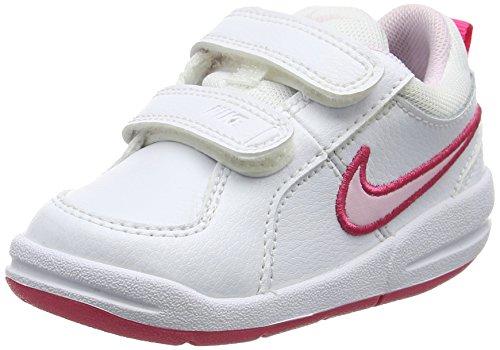 nike-scarpe-sportive-tennis-unisex-bambino-bianco-rosso-rosa-235