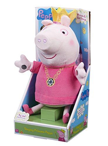 06145Peppa Pig Bache Princesse en peluche Chantant