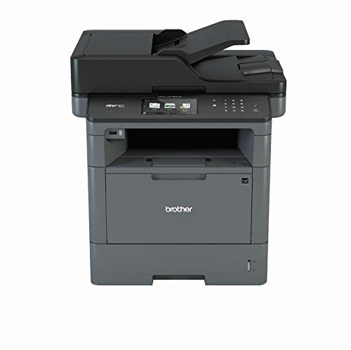Brother MFC-L5750DW A4 MFP mono Laserdrucker 40ppm (Drucken, scannen, kopieren, faxen, 1.200 x 1.200 dpi, Print AirBag für 200.000 Seiten)