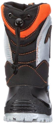Nora Finn 78103 Unisex - Kinder Stiefel Schwarz (Schwarz/orange 51)